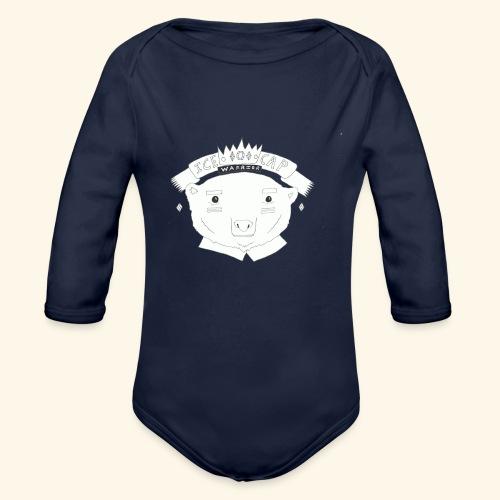 Polar Warrior - Organic Long Sleeve Baby Bodysuit
