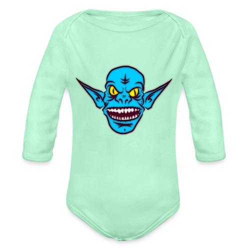 Troll - Organic Long Sleeve Baby Bodysuit