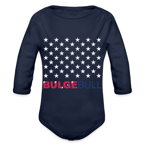 BULGEBULL JULY 4TH - Organic Long Sleeve Baby Bodysuit