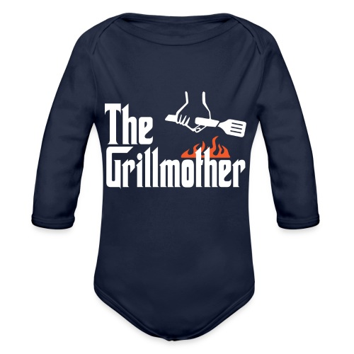 The Grillmother - Organic Long Sleeve Baby Bodysuit