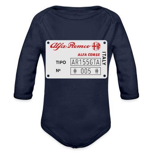 TIPO AR155GTA - Organic Long Sleeve Baby Bodysuit