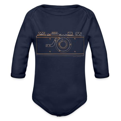GAS - Leica M1 - Organic Long Sleeve Baby Bodysuit