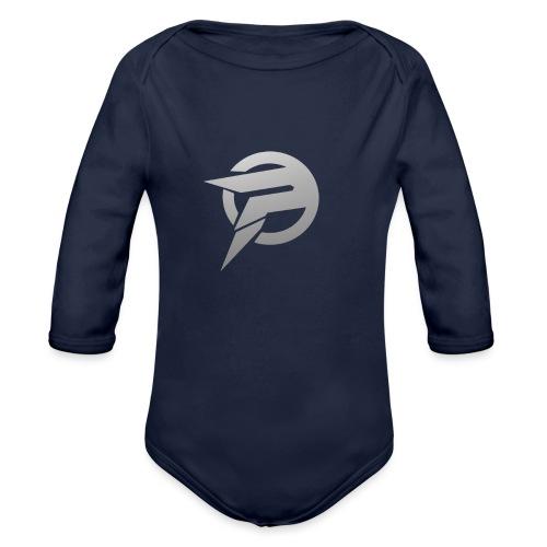2dlogopath - Organic Long Sleeve Baby Bodysuit
