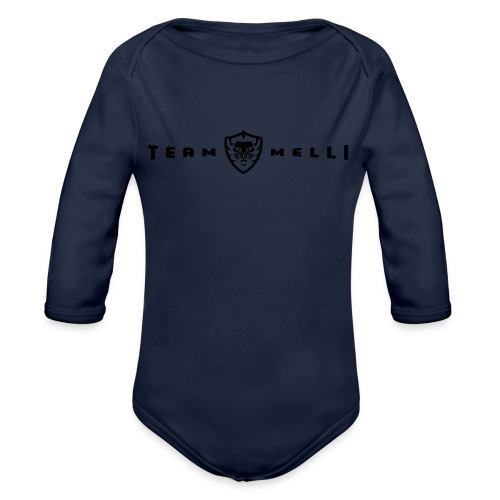 Team Melli Lion - Organic Long Sleeve Baby Bodysuit