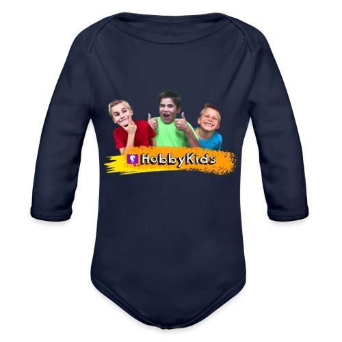 hobbykids shirt - Organic Long Sleeve Baby Bodysuit