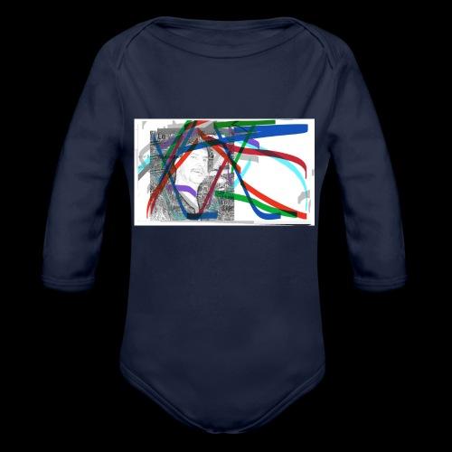 scotts art - Organic Long Sleeve Baby Bodysuit