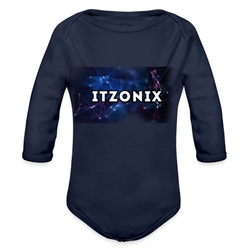 THE FIRST DESIGN - Organic Long Sleeve Baby Bodysuit