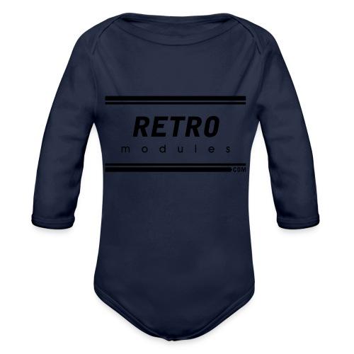 Retro Modules - Organic Long Sleeve Baby Bodysuit
