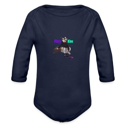 FizzyKins Design #1 - Organic Long Sleeve Baby Bodysuit