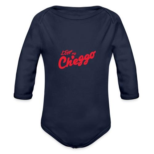 L'Eggo my Ch'eggo TShirt *LIMITED TIME ONLY* - Organic Long Sleeve Baby Bodysuit