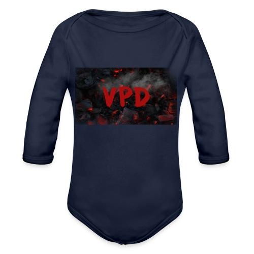 VPD Smoke - Organic Long Sleeve Baby Bodysuit