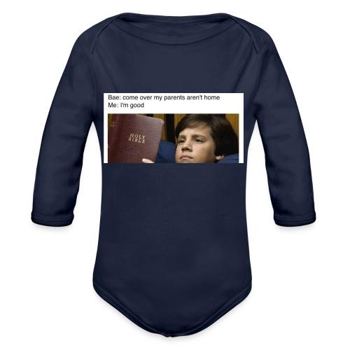 5b97e26e4ac2d049b9e8a81dd5f33651 - Organic Long Sleeve Baby Bodysuit