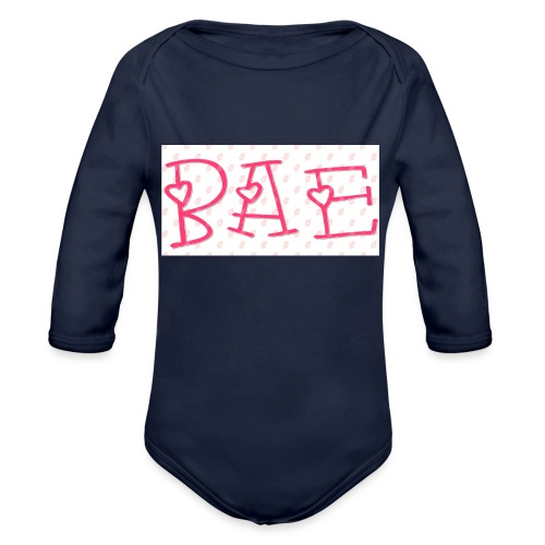 Bae T-shirts - Organic Long Sleeve Baby Bodysuit