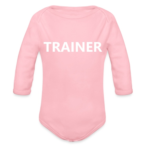 Trainer - Organic Long Sleeve Baby Bodysuit