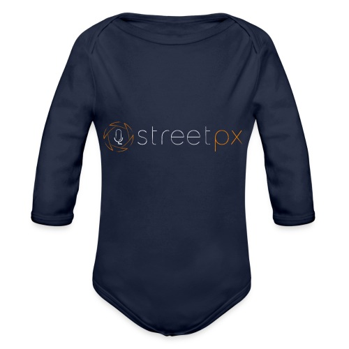 Urban Explorer StreetPX Logo - Organic Long Sleeve Baby Bodysuit