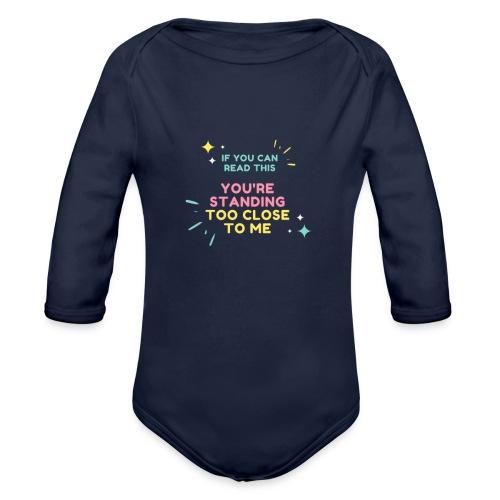 Fight Corona - Organic Long Sleeve Baby Bodysuit