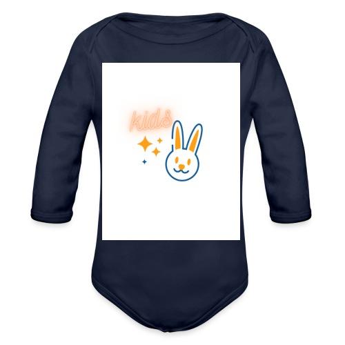 kids - Organic Long Sleeve Baby Bodysuit