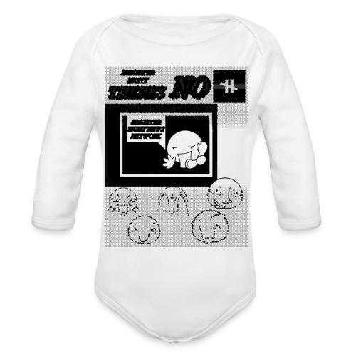 BRIGHTER SIGHT NEWS NETWORK - Organic Long Sleeve Baby Bodysuit