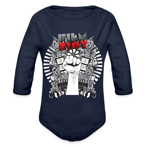 Film Riot - Organic Long Sleeve Baby Bodysuit