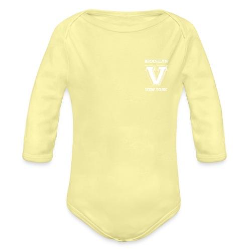 pocket - Organic Long Sleeve Baby Bodysuit