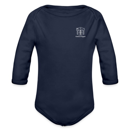 Kids Go Vegan - Organic Long Sleeve Baby Bodysuit