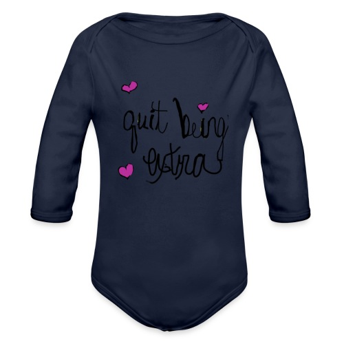 lcmm 3 - Organic Long Sleeve Baby Bodysuit