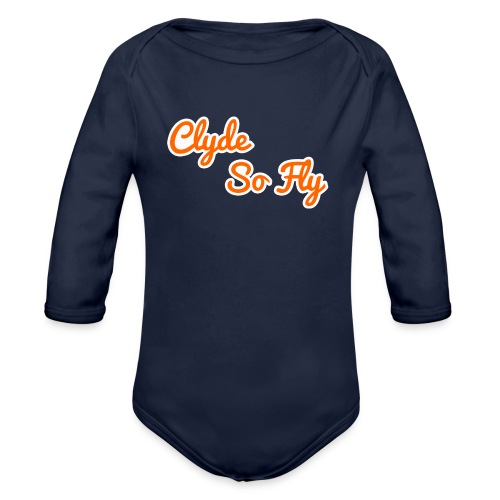 Clyde So Fly Classic - Organic Long Sleeve Baby Bodysuit