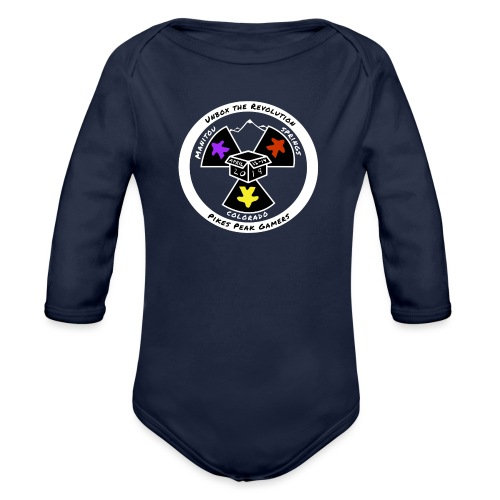 Pikes Peak Gamers Convention 2019 - Clothing - Organic Long Sleeve Baby Bodysuit
