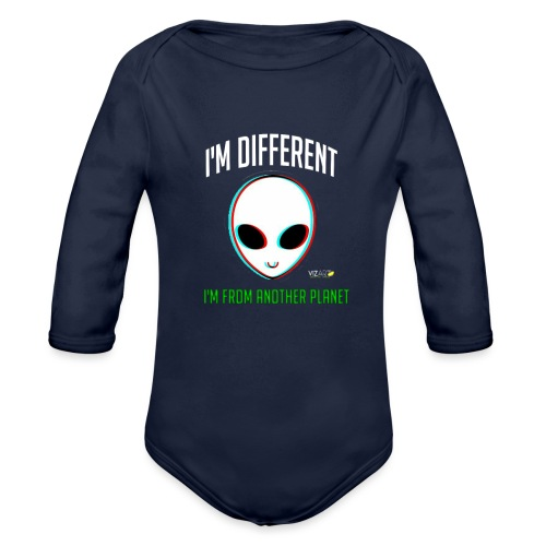 I'm different - Organic Long Sleeve Baby Bodysuit