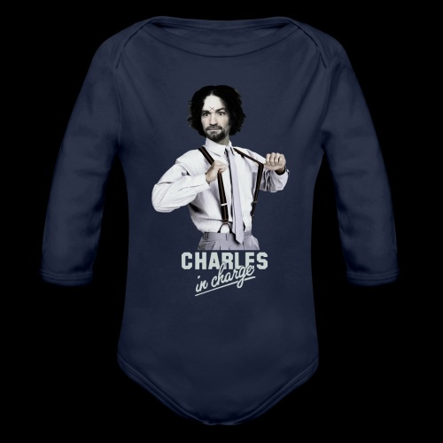 CHARLEY IN CHARGE - Organic Long Sleeve Baby Bodysuit