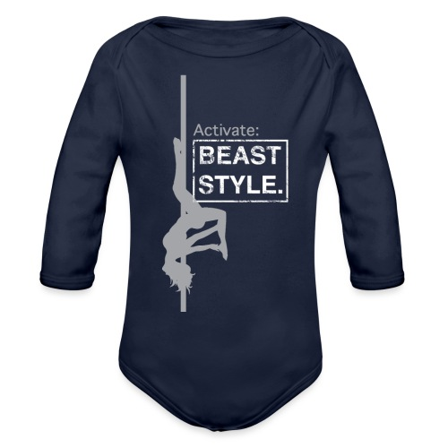 Activate: Beast Style - Organic Long Sleeve Baby Bodysuit