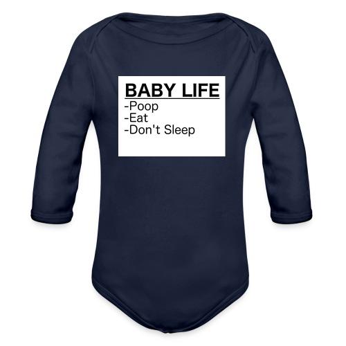 BabyLife - Organic Long Sleeve Baby Bodysuit