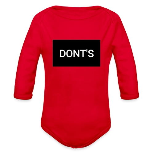 Snapshot 569 - Organic Long Sleeve Baby Bodysuit