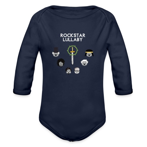 Rockstar Lullaby - Toto Vol. 01 - Organic Long Sleeve Baby Bodysuit
