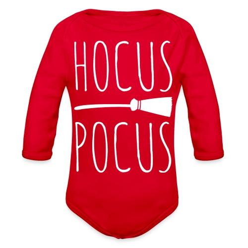 Hocus Pocus Halloween - Organic Long Sleeve Baby Bodysuit