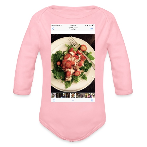 King Ray - Organic Long Sleeve Baby Bodysuit