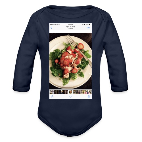 King Ray - Organic Long Sleeve Baby Bodysuit