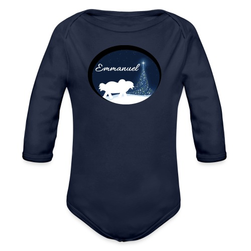 Emmanuel - Organic Long Sleeve Baby Bodysuit