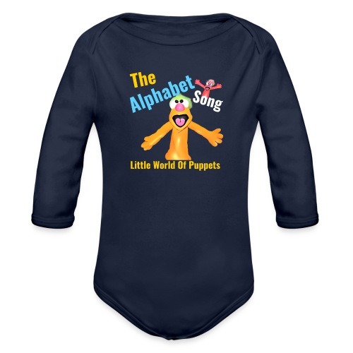 The Alphabet Song - Organic Long Sleeve Baby Bodysuit