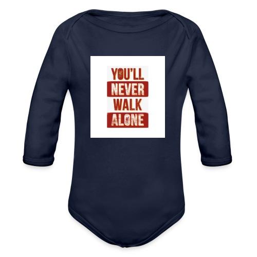 liverpool fc ynwa - Organic Long Sleeve Baby Bodysuit
