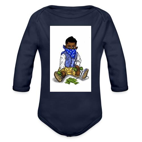 ProblemChild - Organic Long Sleeve Baby Bodysuit