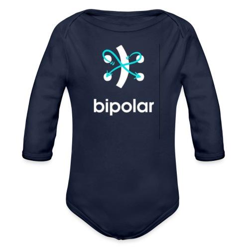 bipolar - Organic Long Sleeve Baby Bodysuit