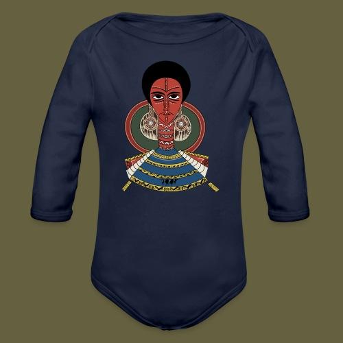 Habesha - Organic Long Sleeve Baby Bodysuit