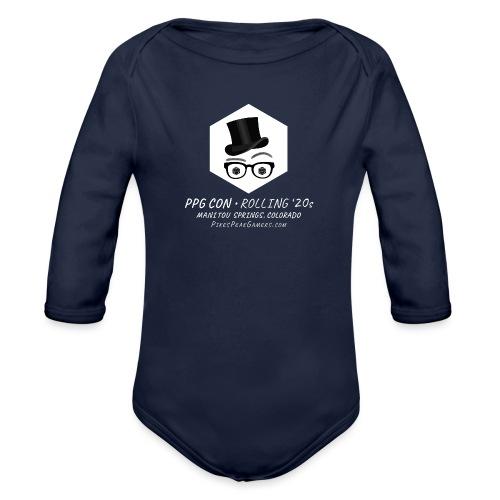 Pikes Peak Gamers Convention 2020 - Organic Long Sleeve Baby Bodysuit