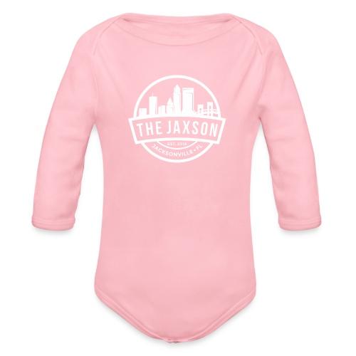 The Jaxson Light - Organic Long Sleeve Baby Bodysuit