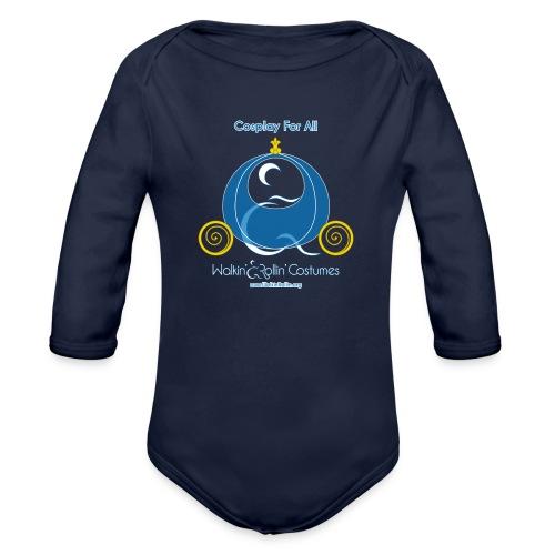 Cosplay For All: Cinderella - Organic Long Sleeve Baby Bodysuit