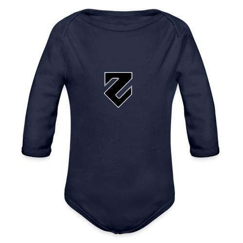 hehe png - Organic Long Sleeve Baby Bodysuit