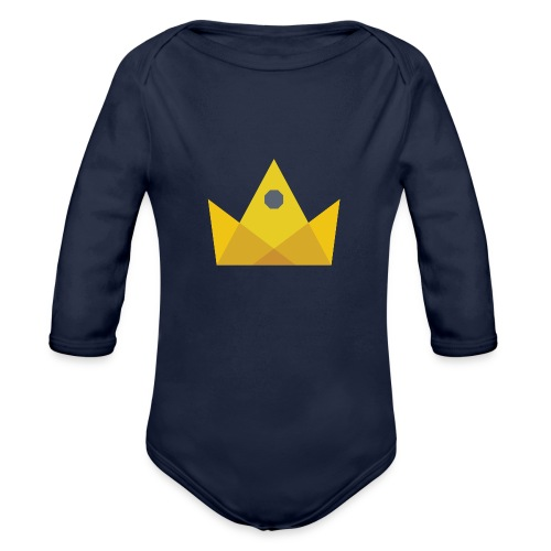 I am the KING - Organic Long Sleeve Baby Bodysuit