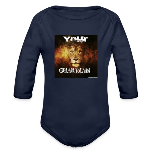 your the next lion guardian!! - Organic Long Sleeve Baby Bodysuit