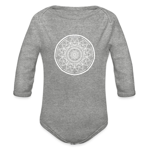Circle No.1 - Organic Long Sleeve Baby Bodysuit